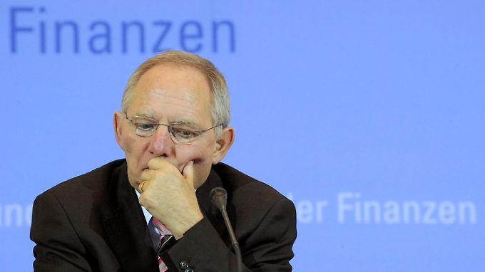 """""""Koalitionsvertag wenig gelesen"""": Schäuble wird von der FDP derzeit heftig kritisiert."""