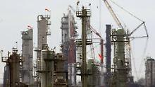 Chevron-Raffinerie in El Segundo/Kalifornien.