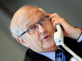 Die FDP wollte mit Wirtschaftskompetenz überzeugen - und holte Rainer Brüderle ins Amt.