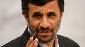 Ahmadinedschad wird sich freuen.