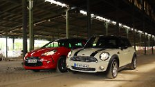Citroën DS3 vs. Mini Cooper: Wer ist hipper, wer ist fitter?