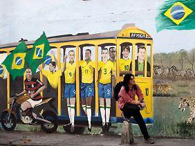 Im besten Alter: Der Brasilaner an sich und seine Fußball-Nationalmannschaft.