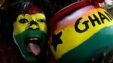 Dank Boateng und Gyan: Ghana im siebten Fußball-Himmel