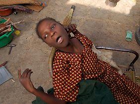Fiddausi Abdullahi Madaki ist ein Opfer der Tests.