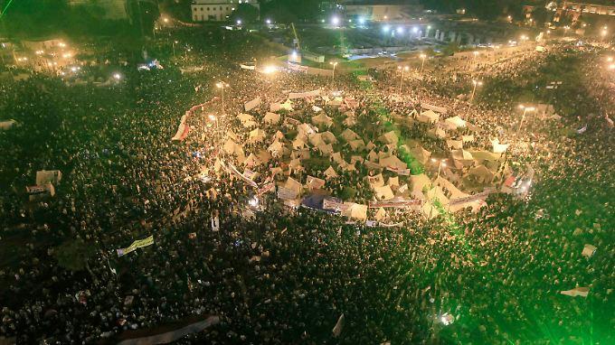 Der Tahrir-Platz in Kairo ist zum Symbol des Arabischen Frühlings geworden.