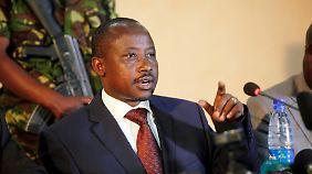 Verlangt direkte Verhandlungen mit dem kongolesischen Präsidenten: M23-Anführer Jean-Marie Runiga Lugerero.