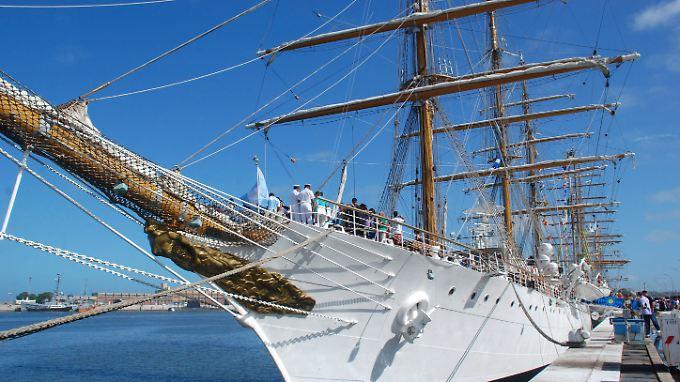 """Das Segelschiff """"Libertad"""" wurde per einstweiliger Verfügung beschlagnahmt."""
