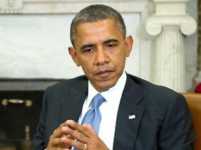 Barack Obama fordert von Mursi Kompromissbereitschaft.