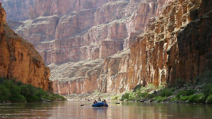 Ein Vorgänger des Colorado River floss schon vor 70 Jahren durch die Schlucht - in die Gegenrichtung.