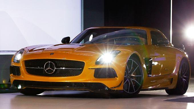 Mercedes AMG stellt schon die fünfte Version seiner extra-starken Black Series vor.