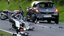 Viele Motorradfahrer verunglückt: Zahl der Unfalltoten gestiegen