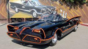 Die Grundlage für das Batmobil bildet der Lincoln Futura.