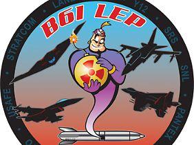 Das LEP-Logo: Comic-Krieg.