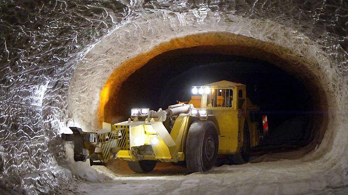 Im Salzstock Gorleben soll das Licht ausgehen - zumindest vorübergehend.