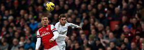 Swansea siegt bei Arsenal: Tremmel düpiert Podolski