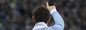 Klose scheint sich wohl zu fühlen in der italienischen Liga.