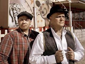 Mit Haudegen schlagen die beiden Musiker neue Töne an.