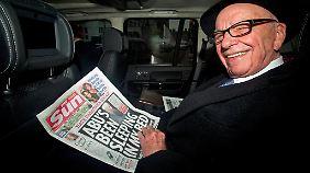 Rupert Murdoch spaltet seinen Medienkonzern auf: In der Fox-Gruppe wird das TV- und Film-Geschäft gebündelt, das Verlagsgeschäft bleibt bei News Corp.