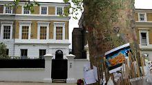 Riesengroß und viel zu teuer: das Haus von Amy Winehouse.