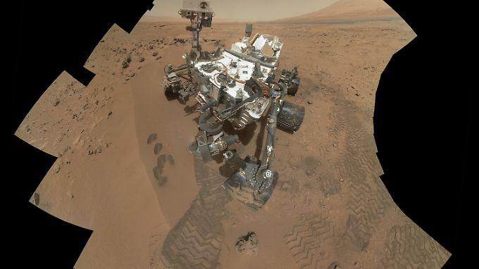 """Die Mars-Exkursion von """"Curiosity"""" startete im August."""