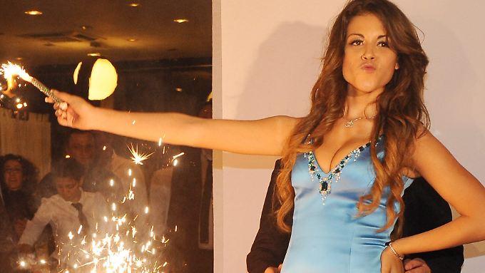 Im Zentrum des Prozesses gegen Berlusconi:  Karima El Mahroug alias Ruby.