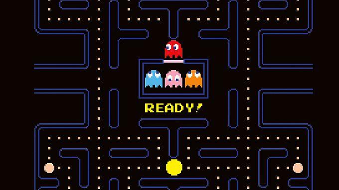 Pac-Man - die kleine, gefräßige, gelbe Kugel.