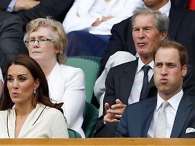 """Victoria und David Beckham als Taufpaten für """"Fergie""""? Auf eine solche Idee kann man wohl nur Downunder kommen."""