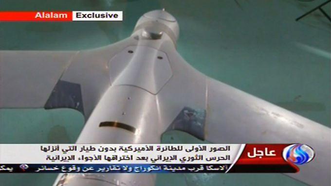 Das iranische Staatsfernsehen verbreitet diese Bilder von der angeblichen US-Drohne.