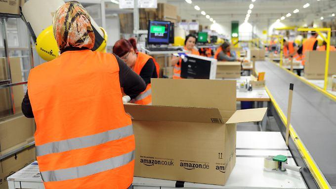 Die Arbeitsbedingungen bei Amazon sorgen weiter für Schlagzeilen.