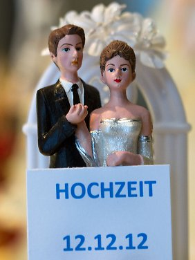 Das Datum kann man sich gut merken, doch die Ehen halten nicht länger.