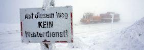 Wie steht's um weiße Weihnachten?: In Deutschland herrscht Eiszeit