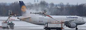 Wintereinbruch und Streiks: Diese Flüge fallen aus
