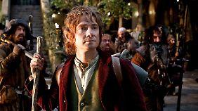 """""""Der Hobbit"""" - das ist Bilbo Beutlin, dargestellt von Martin Freeman."""