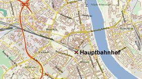 Bonn, Lage des Hauptbahnhofs