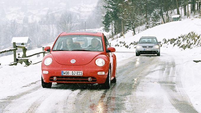 Im Winter sollten Autofahrer besonders vorsichtig unterwegs sein.
