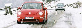 Pflichten für Autofahrer im Winter: Ignoranz kann teuer werden