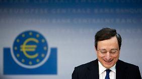Die von Mario Draghi geführte Euopäische Zentralbank wird für die Überwachung von Bankgeschäften zuständig sein.