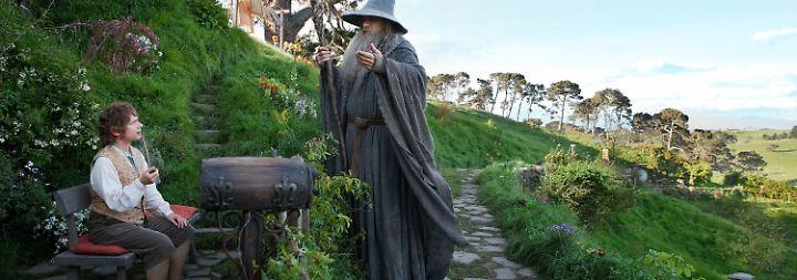 """Ein Stück Mittelerde in London: """"Hobbit"""" verursacht Riesen-Hype"""