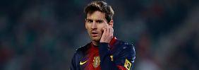 Lionel Messi kam mit 13 Jahren zum FC Barcelona. Heute ist er der beste Fußballer der Welt.