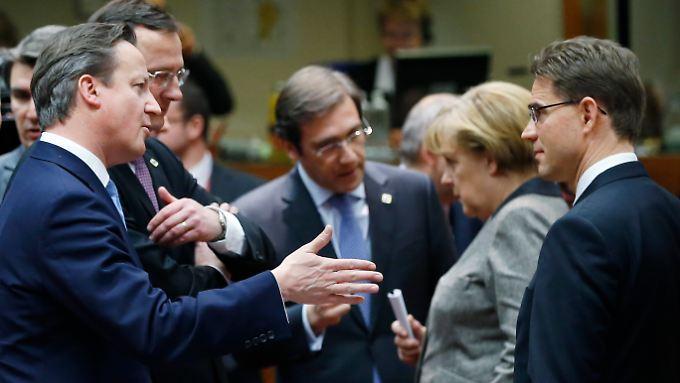 Das ist der Gipfel: EU-Staats- und Regierungschefs beraten.