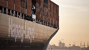 Hapag-Lloyd- und Hamburg Süd-Gigant: Deutsche Reedereien prüfen Fusion