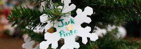 Jack Pinto wurde als eines der ersten Kinder beigesetzt.