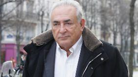Wird ihm übel mitgespielt? Er selbst sieht es so: Dominique Strauss-Kahn.