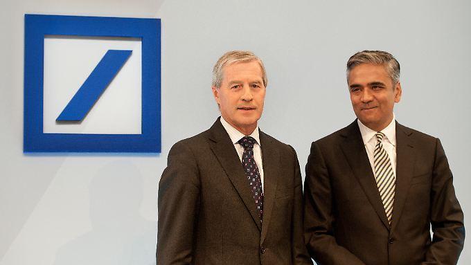 Jürgen Fitschen und Anshu Jain, Co-Chefs der Deutschen Bank.