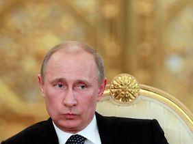 Keine Alternative in Sicht: Putin hält an der Macht fest.