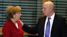 """""""In der Großen Koalition habe ich ihn als einen hart argumentierenden, dabei jedoch stets verlässlichen Partner kennen- und schätzengelernt."""""""