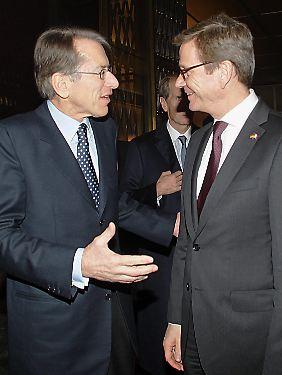 Guido Westerwelle reiste zur Präsentation des Berichts nach Rom.
