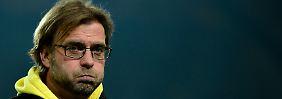Kein tolles Weihnachtsgeschenk für BVB-Coach Jürgen Klopp und seine Truppe.
