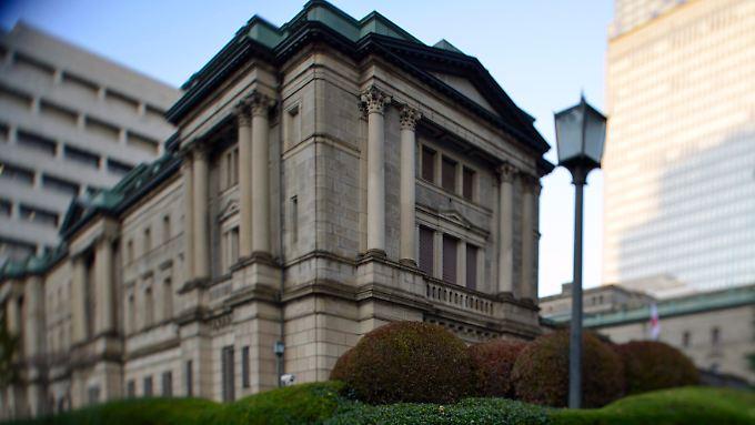 Die Bank of Japan in Tokio.