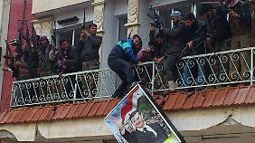 Die Rebellen erobern das Militärhospital in Halfaya